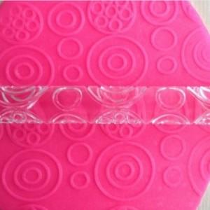 Mini Rolling Pin Transparent (Circle Design)