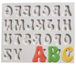 2018 Alphabet Silicone Mould 2