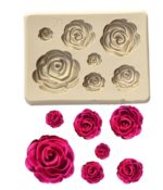 Mould (Rose 7 pcs)