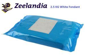 Zeelandia White Fondant 2.5 Kg