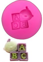Silicone Mould (Small Baby ABC)