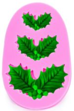 Mould (Christmas Holly Leaves)