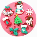 Mould (Snowman and Christmas Items)